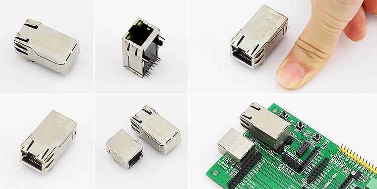 超级网口,串口服务器模块,ttl转以太网模块