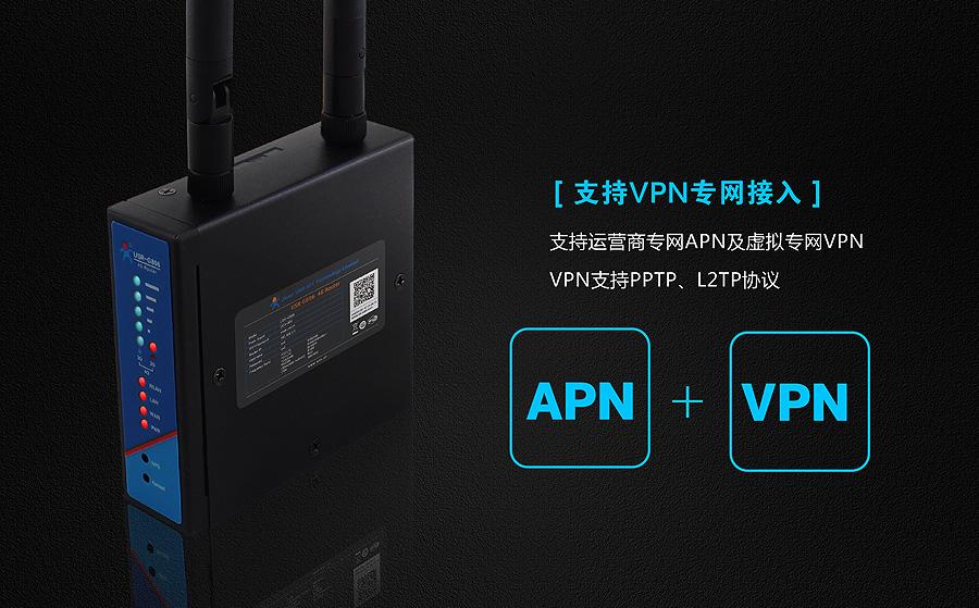 4G工业无线路由器VPN和APN功能
