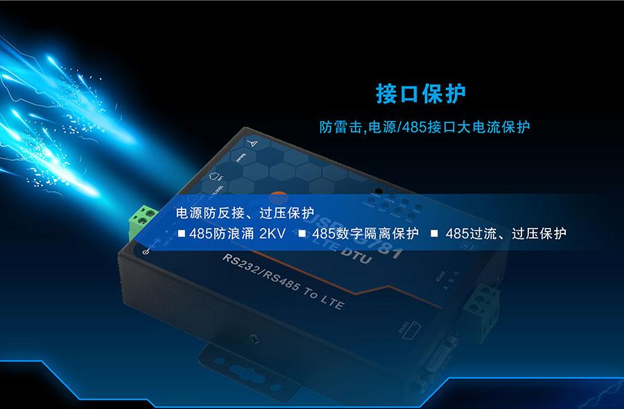 4G DTU_ 路由器的接口保护