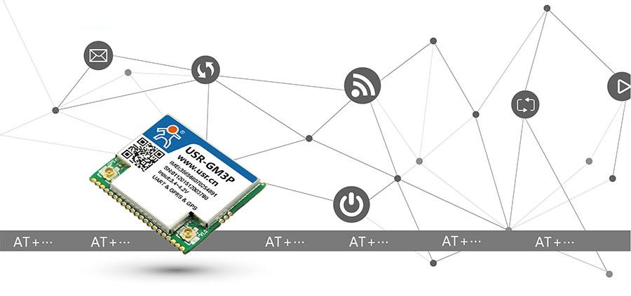 透传GPRS模块_GPS定位模块AT模式