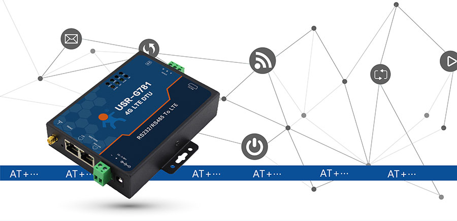 4G DTU_ 路由器的AT指令模式