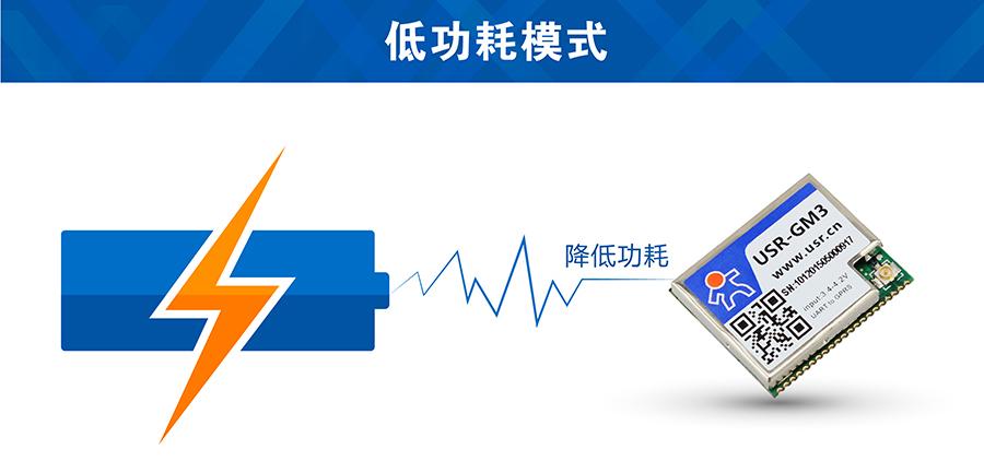 GSM模块低功耗模式