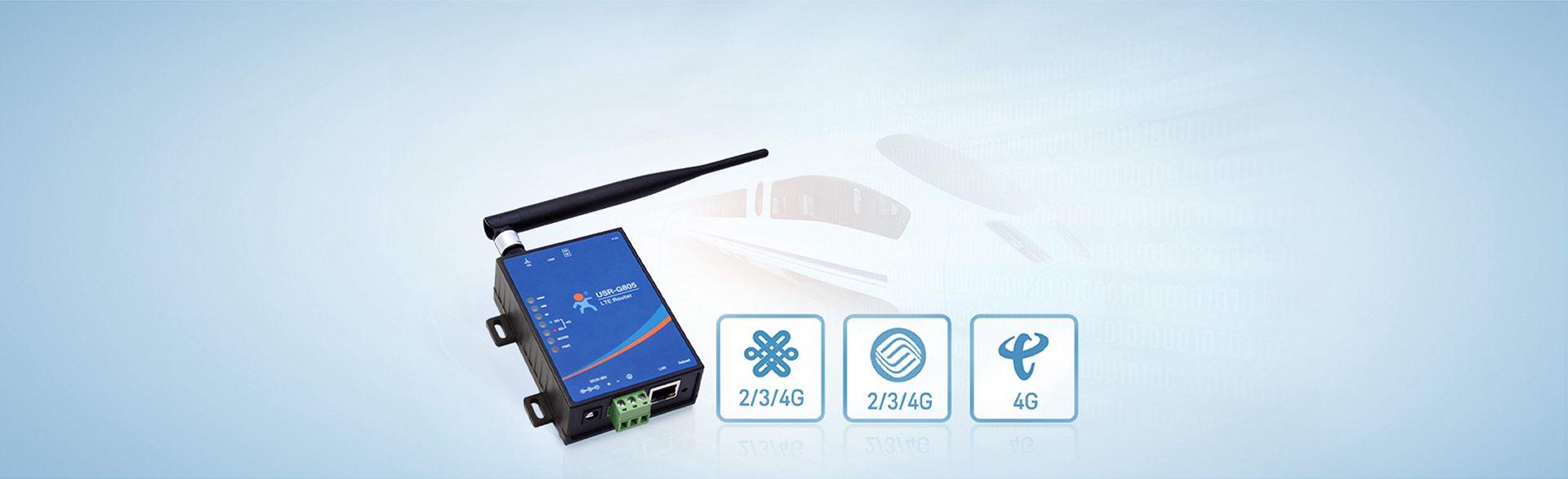Truy cập tốc độ cao vào các bộ định tuyến công nghiệp LTE chi phí thấp