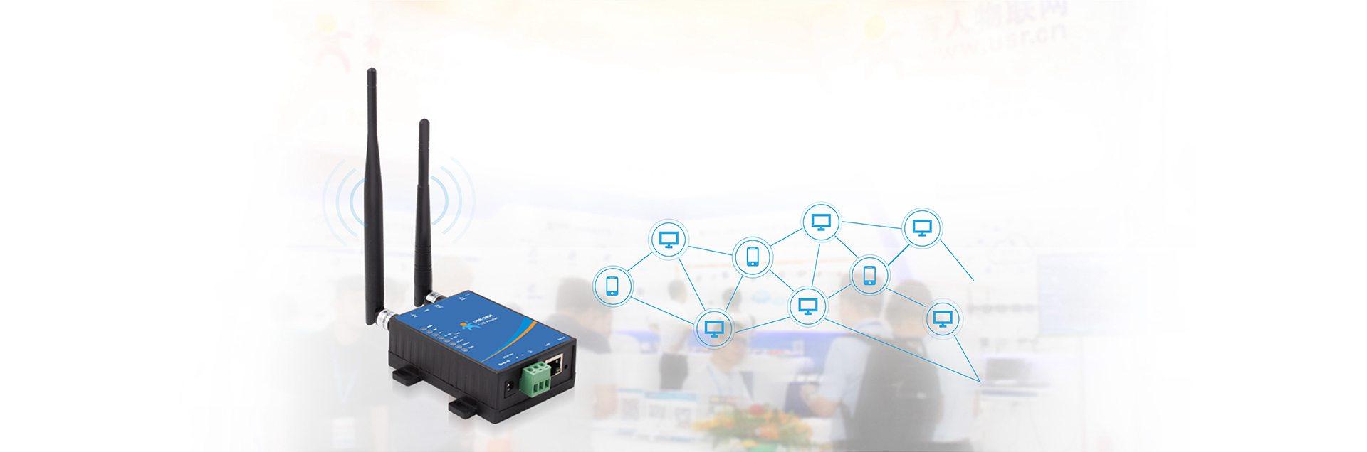 Triển lãm bộ định tuyến công nghiệp LTE chi phí thấp