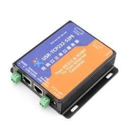 rs485串口_双网口 2路RS232 1路rs485串口服务器 串口转以太网标准POE供电-产品 ...