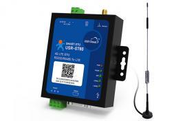 4G DTU RS232/485串口 4G网络数据双向透明传输